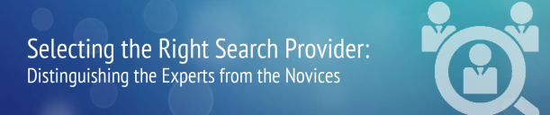 Selecting the right search provider