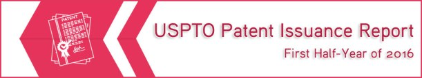 uspto-patent-issuance-report-first-half-year-of-2016