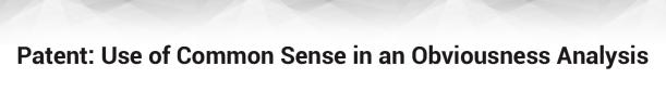 patent-use-of-common-sense